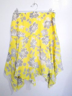 vintage pale yellow w/ silvery gray orchid / by VintageHomage, $20.00