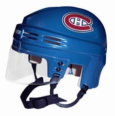 Official Licensed Mini Player Helmets - Montreal Canadiens
