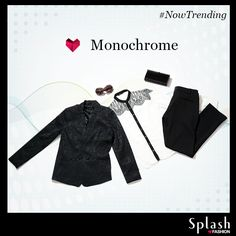 Monochrome separates are perennially chic! Splash your style from a store near you at irresistibly low prices! #Sale #Splash #Fashion #SplashIndia
