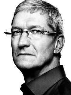 Tim Cook (1960) - American business executive, and is the CEO of Apple Inc. Photo by Platon