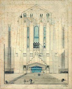 Antonio Sant'Elia - Architettura - 1912
