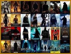 Posters Cliches de filmes.