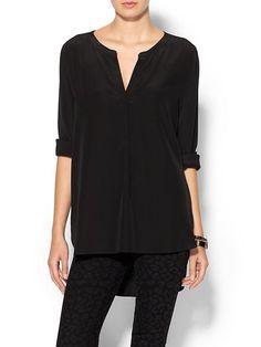 BCBG Maxazria Black Top #Shopping #Clothes #Blouse
