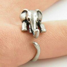 Adjustable size elephant ring * 6 aviliable * Adjustable size elephant ring Jewelry Rings