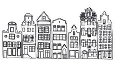 graphic amsterdam houses - Google Search