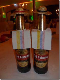 Club Colombia disfrazada de paisa para regalo