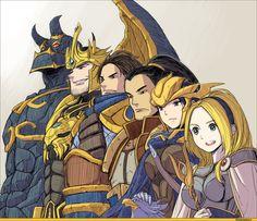 Lux, Quinn, Xin Zhao, Garen, Jarvan, and Galio • League Of Legends
