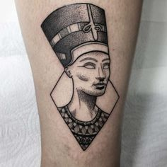 Dope Tattoos, Body Art Tattoos, New Tattoos, Sleeve Tattoos, Mini Tattoos, Mandala Tattoo Design, Tattoo Designs, Osiris Tattoo, Nefertiti Tattoo