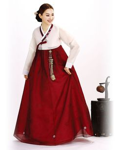 Korean Hanbok Clothes Women Men Kids For
