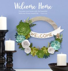 Home   Close To My Heart Paper Suppliers, Lasting Memories, Welcome Home, Close To My Heart, Craft Stores, Decorating Your Home, Wreaths, Crafty, My Favorite Things
