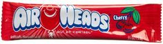 When you are looking for a chewy and tasty taffy there is nothing better than the individually wrapped taffy sticks from Airheads. These treats are fun and friendly for children; and the Airheads Cherry sticks are the perfect cherry taste. With a bright r