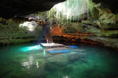 4. Devil's Den, Williston - This underground swimming hole in Williston (near Gainesville), is a rare natural wonder that will blow you away (if you know at least the basics of diving). It's only open for scuba diving or snorkeling, no sightseeing tours, unfortunately.