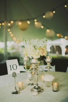 Wedding Centerpieces wedding party, or Bride and Groom table