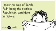 sarah palin...