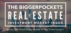 The BiggerPockets 2015 Real Estate Investment Market Index analyzes the 50 largest US MSAs likeliest to produce outsized returns for real estate investors.