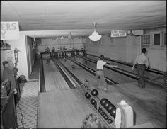 Baby Boomers-Retirement-1960s-Bowling Alley