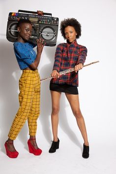 Flutronix // Natural Hair Style Icons | Black Girl with Long Hair