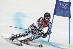 DAY 13:  Cristian Javier Simari Birkner of Argentina competes during the Alpine Skiing Men's Giant Slalom http://sports.yahoo.com/olympics