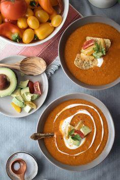 Smoky Tortilla Soup | Vegetarian Ventures