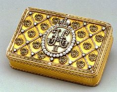 Faberge box of Tsar Nicholas II