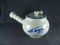 백산 김정옥(청화백자다기)  Korean teapot