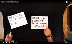 "Vlogger Casey Neistat's guide to having more time for ""BEING LEFT ALONE TO THINK & MAKE STUFF"""