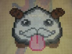 League of Legends Poro with a mustache, $10 at The Craft Garrison on Etsy