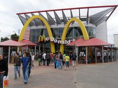 McDonald's Disney Village Paris France