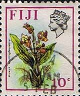Postage Stamps Fiji 1971 Birds and Flowers Set Fine Used SG 442 Scott: 312 Other European and British Commonwealth Stamps HERE!