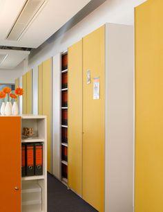 Moderne büroschränke  Cabinets | Storage-Filing | basic S Suspended door system. Check ...