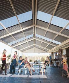 Pergolas Plus Outdoor Living Colorbond Roofs No Gable