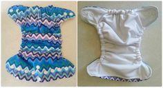 {tutorial} Newborn Pocket Cloth Diaper with Adjustable Elastic FREE PATTERN PDF DOWNLOAD
