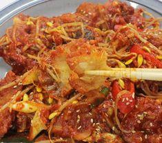 끝내주는 맛!! 만물상 이보은 황태콩나물찜 만들기 Korean Food, Japchae, Beef, Cooking, Ethnic Recipes, Meat, Kitchen, Korean Cuisine, Brewing