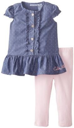 Calvin Klein Baby-Girls Infant Chambray Top with Leggings, Blue, 12 Months Calvin Klein,http://www.amazon.com/dp/B00EOIBLLG/ref=cm_sw_r_pi_dp_HAOytb171DMYZXRT