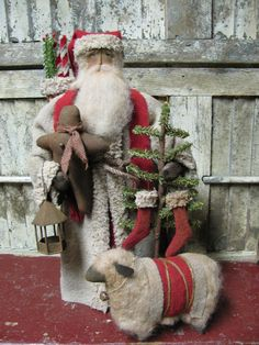 Olde St. Nick ~by Folk Artist Sue Corlett~1897 House~