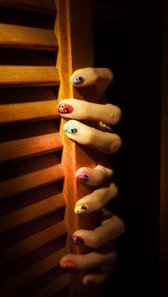 Ahh! Real nail monsters!