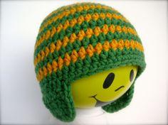 Modell Ringel grün-gelb mit Ohren