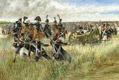 Cannone francese da 12 libbre con severi al pezzo