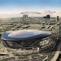 The Oakland Raiders' Move to Las Vegas Could Give Them the NFL's Most Innovative Stadium Stadium Architecture, Unique Architecture, Futuristic Architecture, Baseball Park, Soccer Stadium, Moving To Las Vegas, Zaha Hadid Architects, Church Building, Football Stadiums