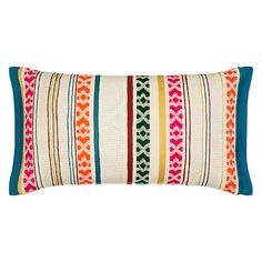 Buy John Lewis Neon Stripe Cushion Online at johnlewis.com