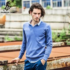 2016 men sweaters pull homme pullover casual jersey hombre cotton v-neck plus size | Online Shopping websites AliExpress Coupons