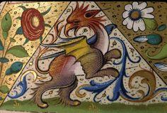 Paris, Bibl. Sainte-Geneviève, ms. 0106, f. 100r. Evangéliaire à l'usage de l'abbaye Sainte-Geneviève de Paris (?) c 1520-1530 (?).