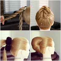 Mention someone who would love to try these hairstyles 😍 Cada vez mas mujeres nos Easy Hairstyles For Long Hair, Braided Hairstyles, Party Hairstyles, Maquillage Black, Bridal Hair Buns, Curly Hair Tutorial, Front Hair Styles, Long Hair Video, Hair Videos