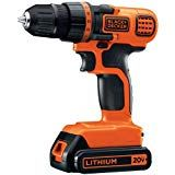The BLACK+DECKER MAX Lithium-Ion Cordless Drill-Driver features lithium ion technology, making it lighter and more compact. Variable speed allows countersinking without damaging material. Cordless Power Drill, Cordless Tools, Percussion, Tool Storage, Storage Organization, Diy Dining Table, Wood Stars, Decoration Originale, Home Candles