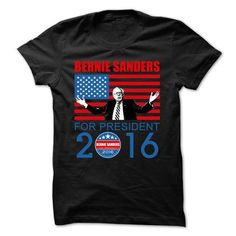 awesome Bernie Sanders For President 2016 T-shirt