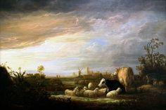 https://flic.kr/p/Q4Q15V   Rotterdam (The Netherlands) - Museum Boijmans-Van Beuningen - Aelbert Cuyp - Sunset near Dordrecht   Pictures by Björn Roose. Taken in the museum Boijmans-Van Beuningen, Rotterdam (The Netherlands) in February 2016.