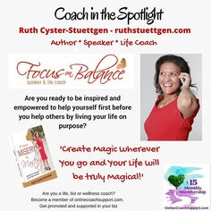 Are you a Yummy Mummy with BIG dreams and aspirations to - improve your life? - live your life on purpose and with total integrity? - create your amazing business so that you can lead that gorgeous lifestyle with your family?  With the right guidance you can place yourself in the driver's seat and empower yourself as a woman, mum and businesswoman to reach heights that most women only dream of.  Ruth's Coaching Programmes will allow you to find the balance in all areas of your life, which…