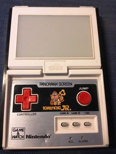 Donkey Kong JR, Panorama Screen Game and Watch Nintendo