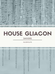 House Gliacon ✤ Red Queen (Victoria Aveyard)