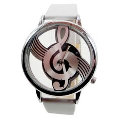 """You can keep in time to music every day you wear this funky music watch! This watch is shock resistant so you can sing """"Out Of Tune"""" whilst wearing it! Perfect gift for any music lover. The straps on"""